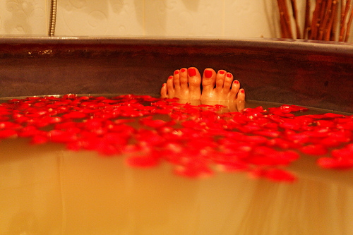 Bubble Bath, Rose Petals