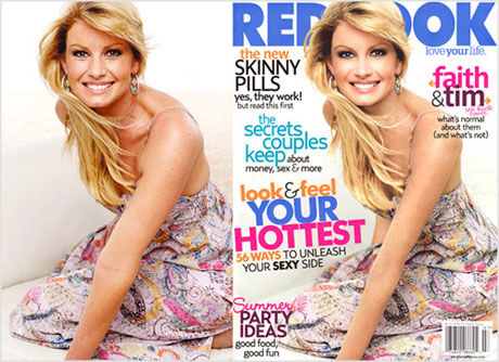Faith Hill Photoshopped