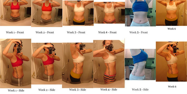 fitness challenge results