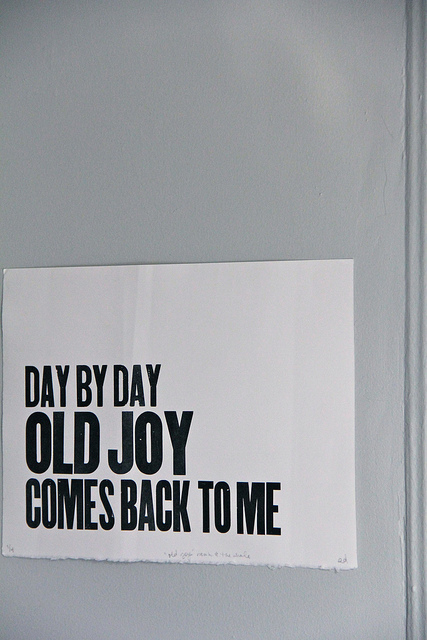 evolutionyou.net | old joy