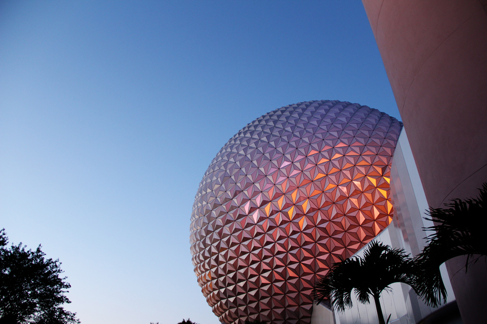 evolutionyou.net | epcot ball
