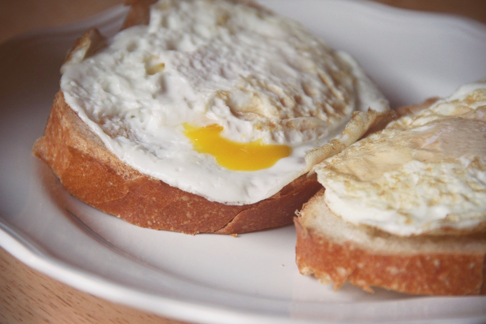 livelovesimple.com | eggs + toast