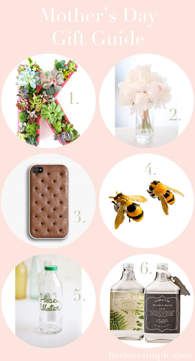 livelovesimple.com | Mother's Day Gift Guide