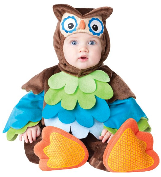 incharacter costumes llc what a hoot brownmulti 12 to 18 months