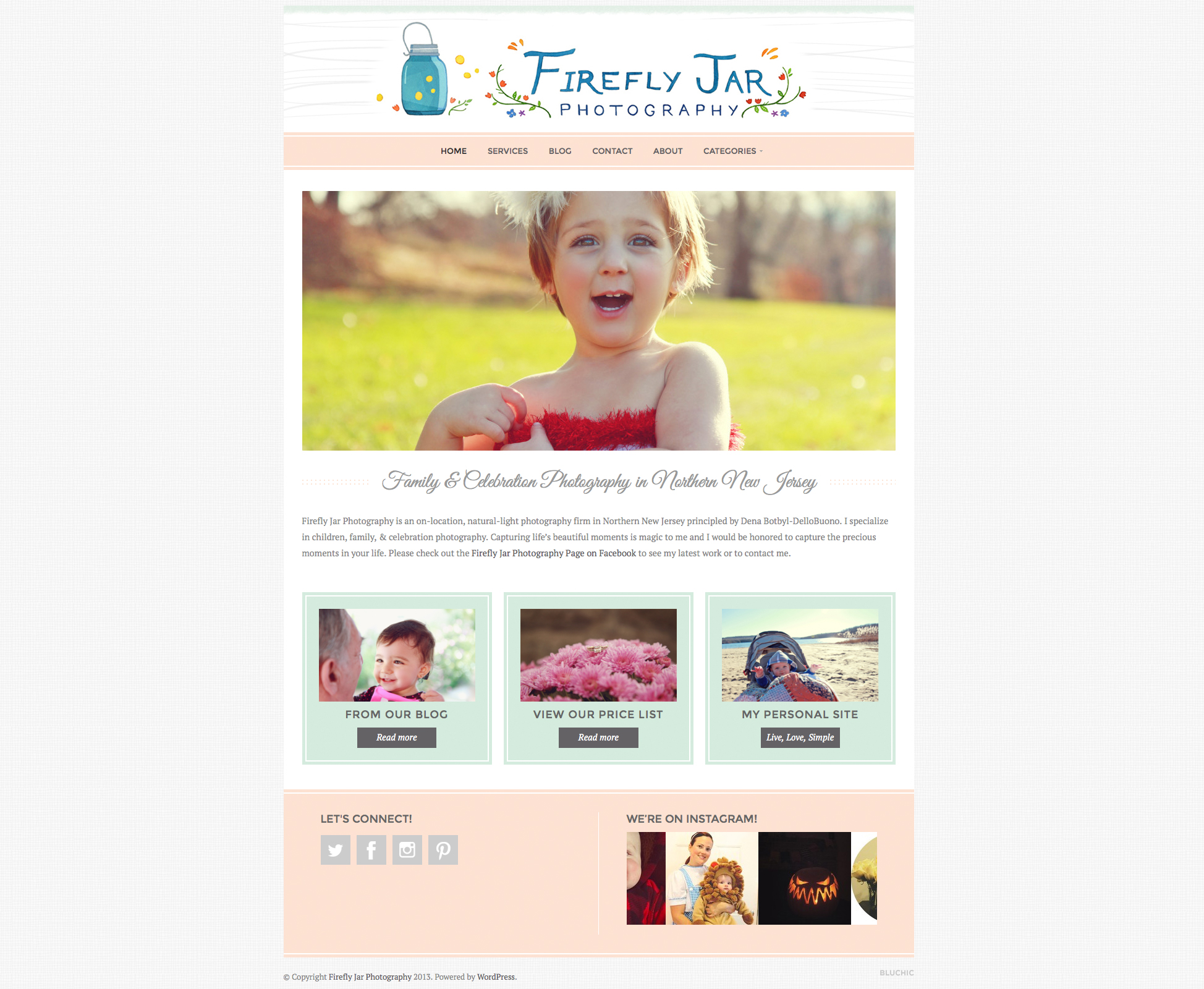 Firefly Jar Photography Website