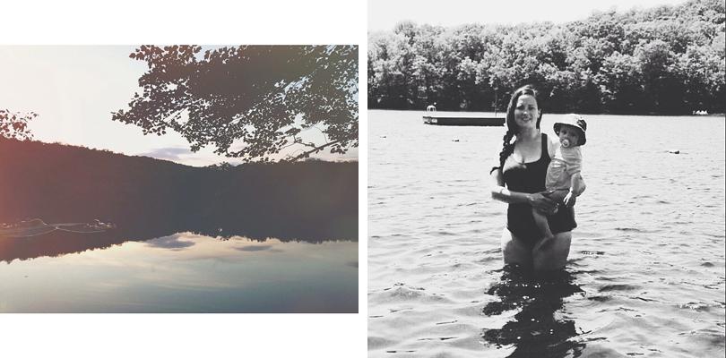 mom baby lake
