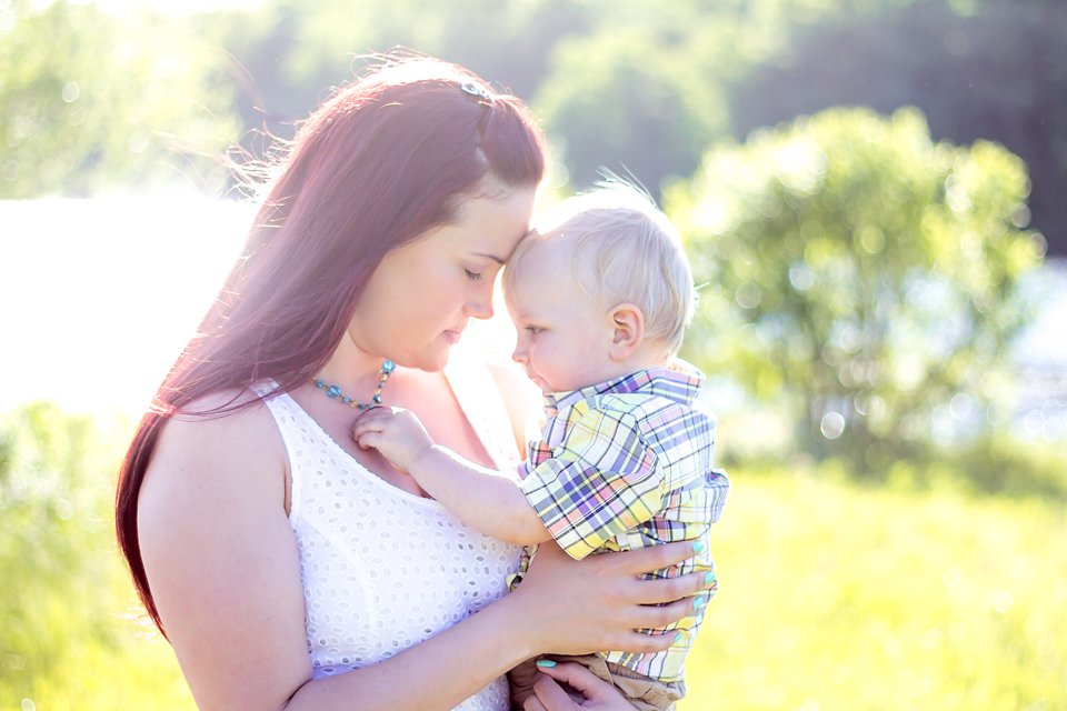 mama & baby | livelovesimple.com