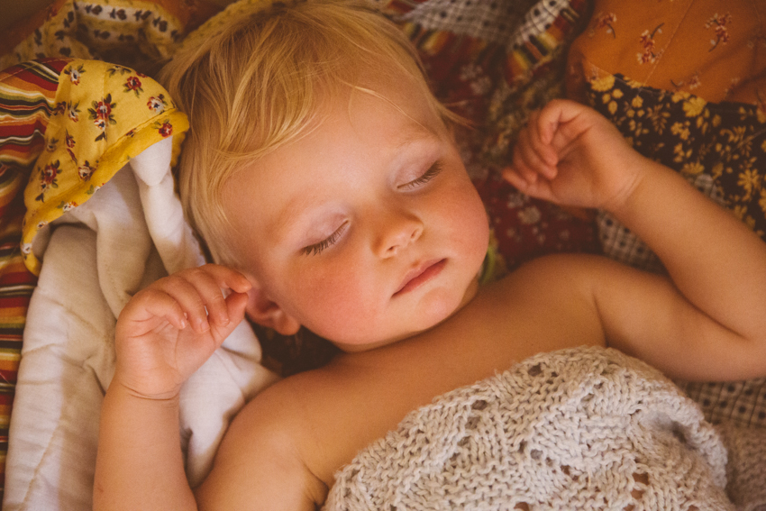 sleeping toddler | livelovesimple.com