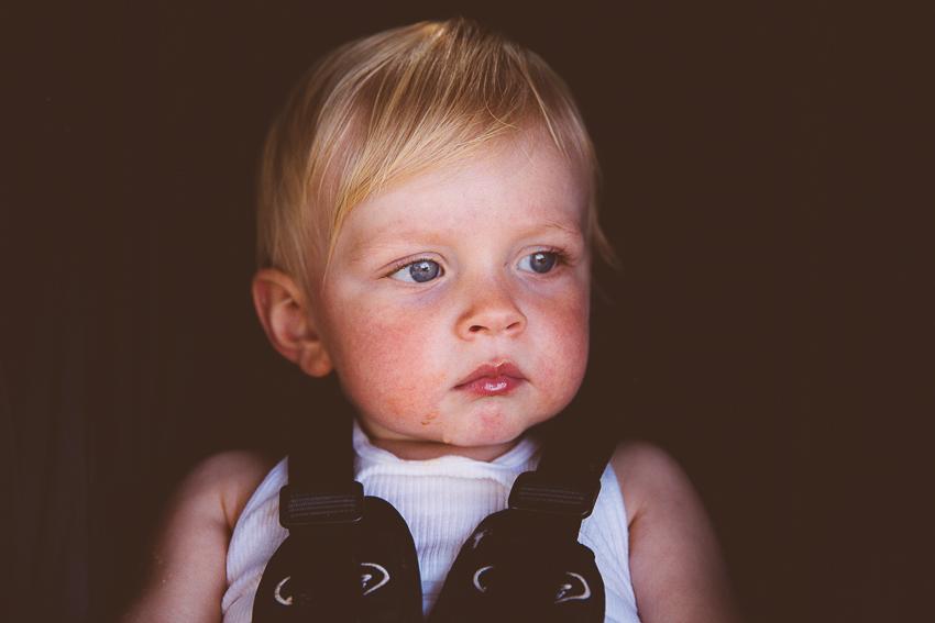 blue eyed toddler | livelovesimple.com