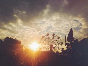 carnival sunset| livelovesimple.com