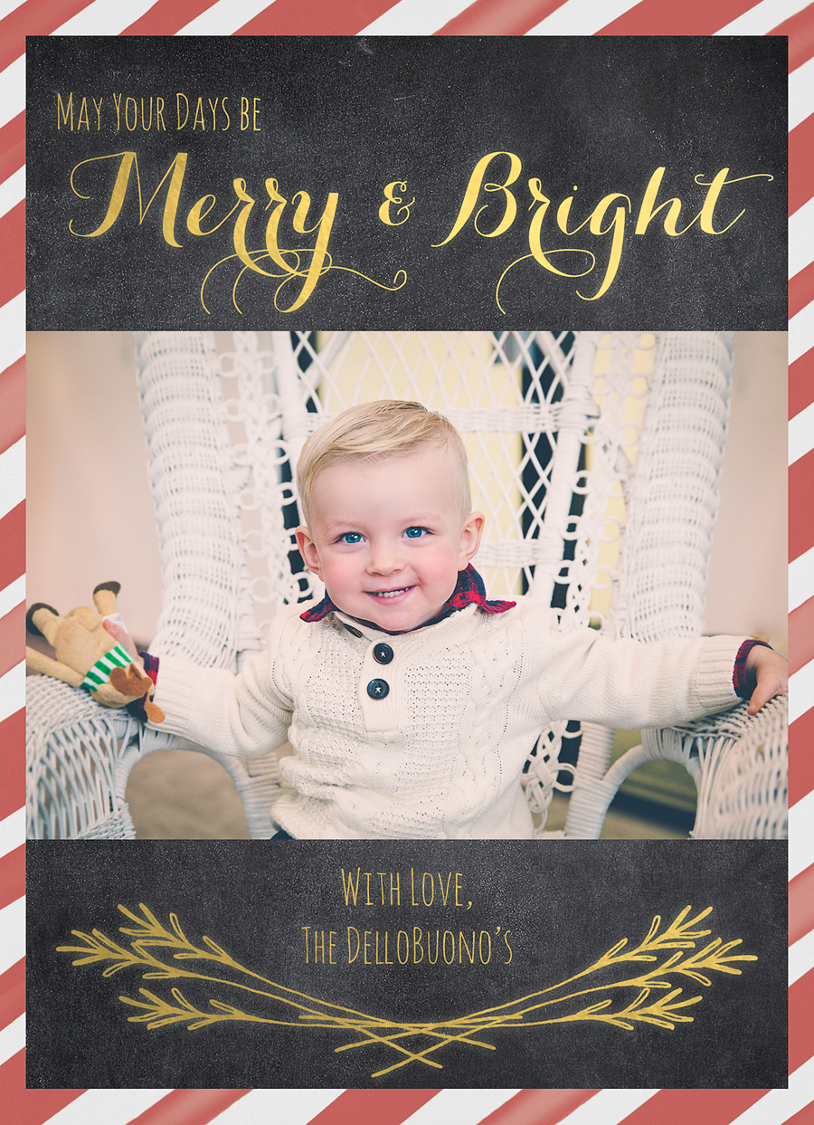 Christmas card | livelovesimple.com