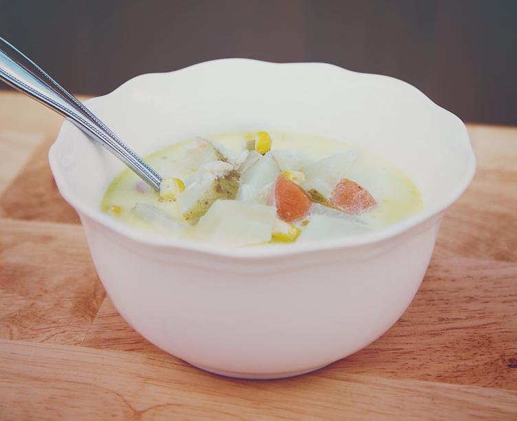 Creamy Crab Chowder