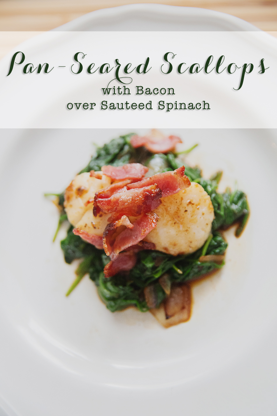 Scallops with Bacon Recipe