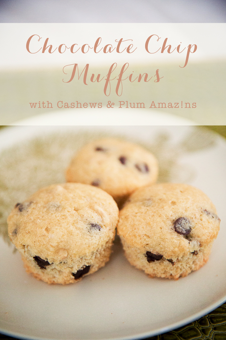 Chocolate Chip Muffin // livelovesimple.com