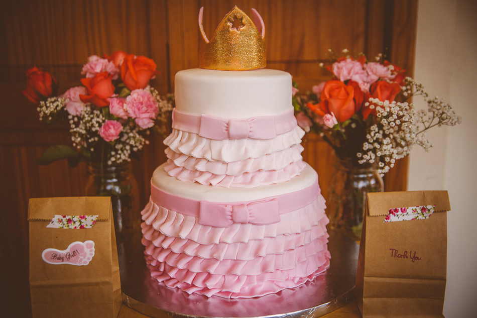 pink ombre cake / livelovesimple.com
