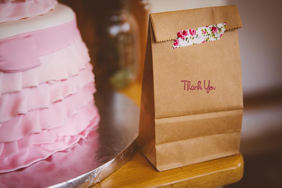 pink ombre cake / livelovesimple.com