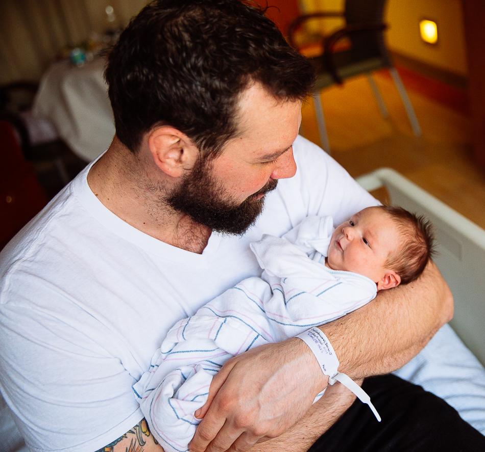 papa & baby girl // livelovesimple.com