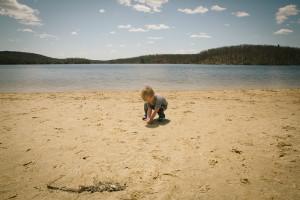 at the lake // livelovesimple.com