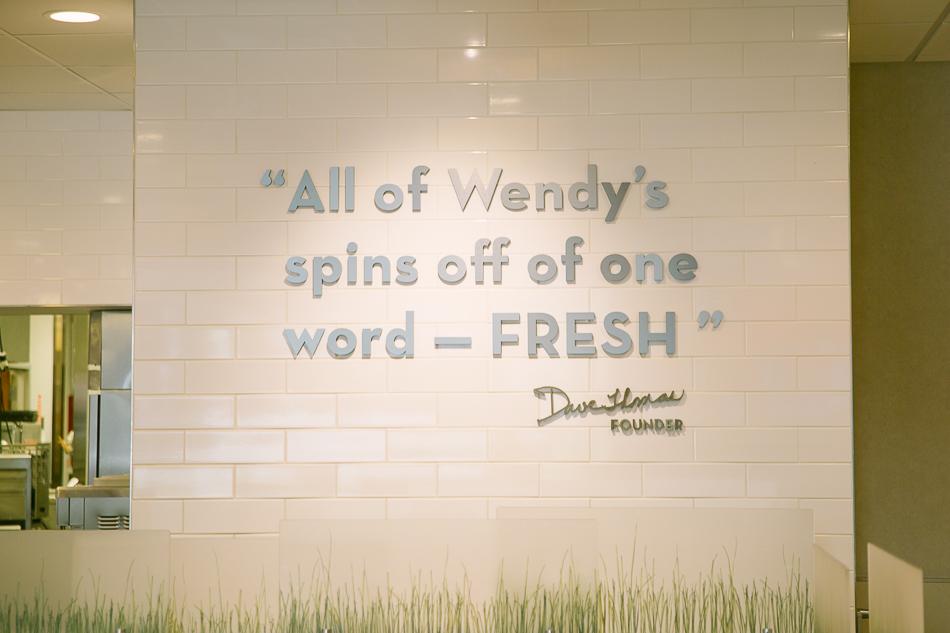 Wendys Salads // livelovesimple.com
