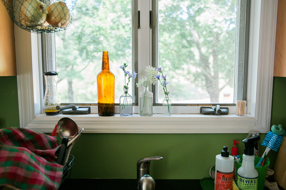 kitchen in august // livelovesimple.com