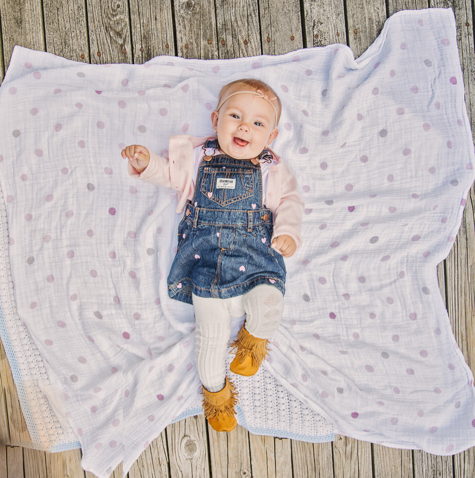 Six-Month-Old Marina Grace // livelovesimple.com