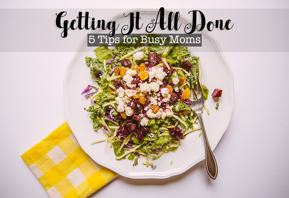 5 Tips for Busy Moms // livelovesimple.com