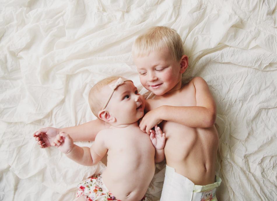 sibling portrait // livelovesimple.com