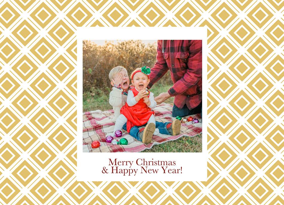 Christmas Card 2015 // livelovesimple.com