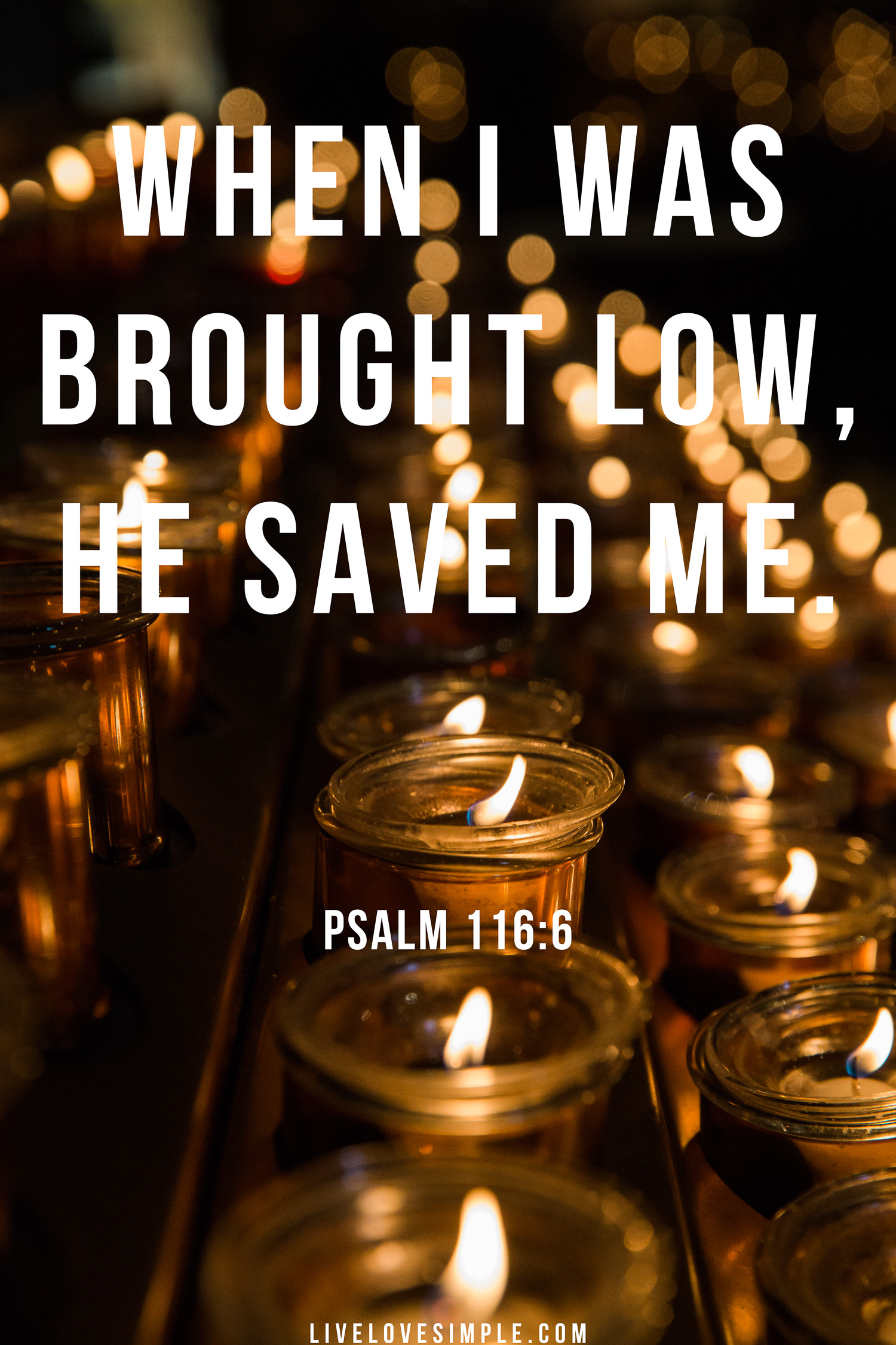 He saved me.