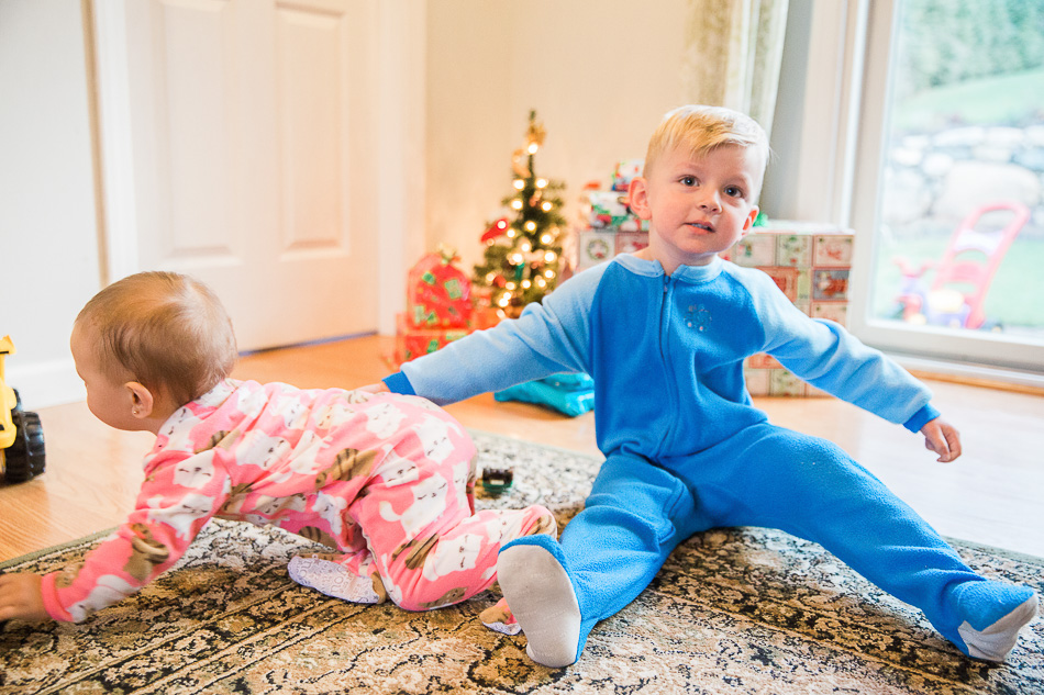 Christmas Morning / livelovesimple.com