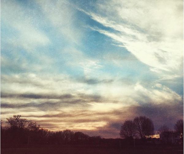 watercolor sky // livelovesimple.com