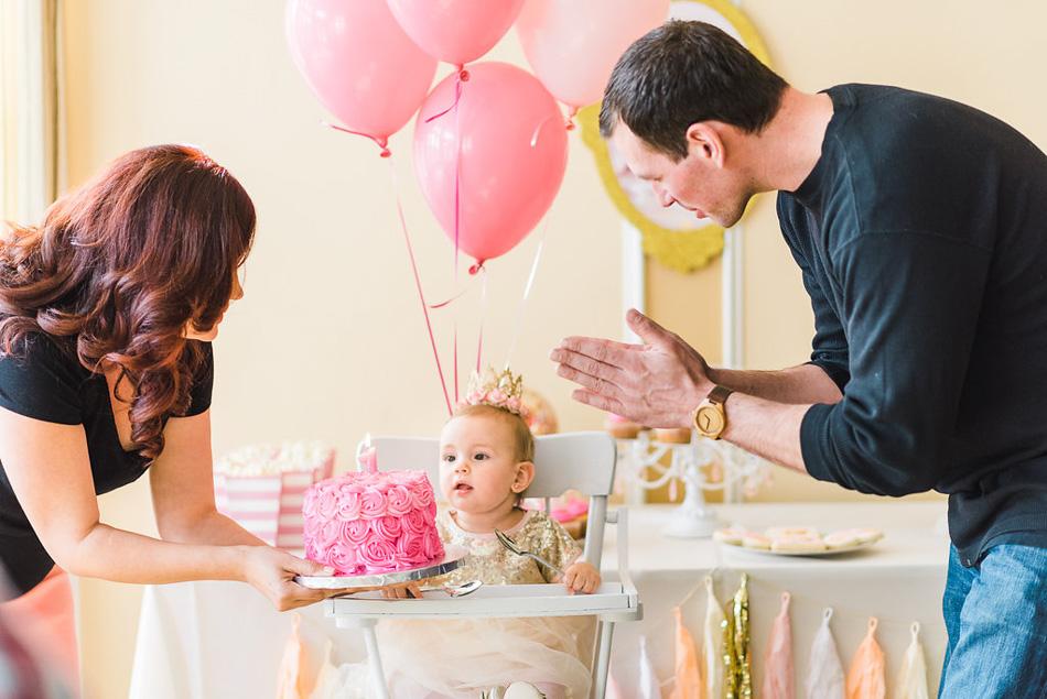 Pink & Gold Princess Party // livelovesimple.com