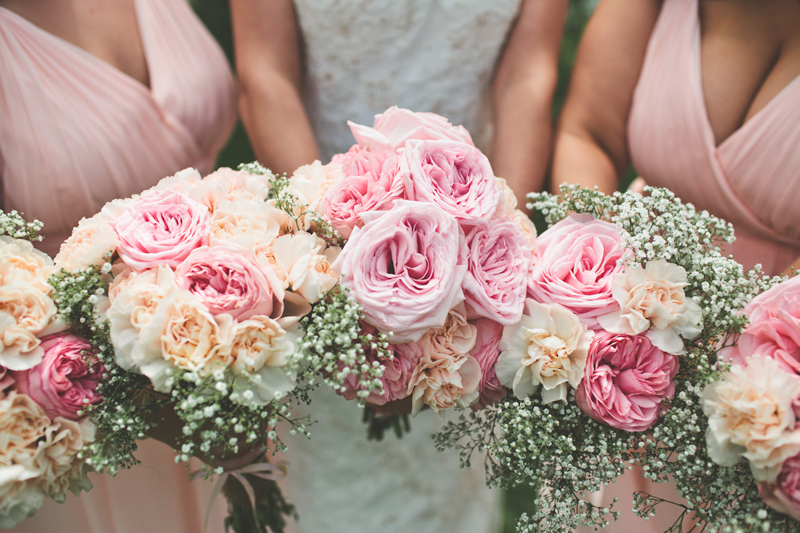 wedding flowers // livelovesimple.com
