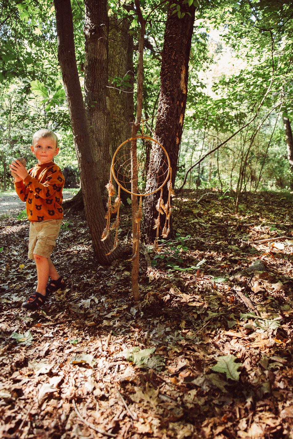magic in the woods // livelovesimple.com