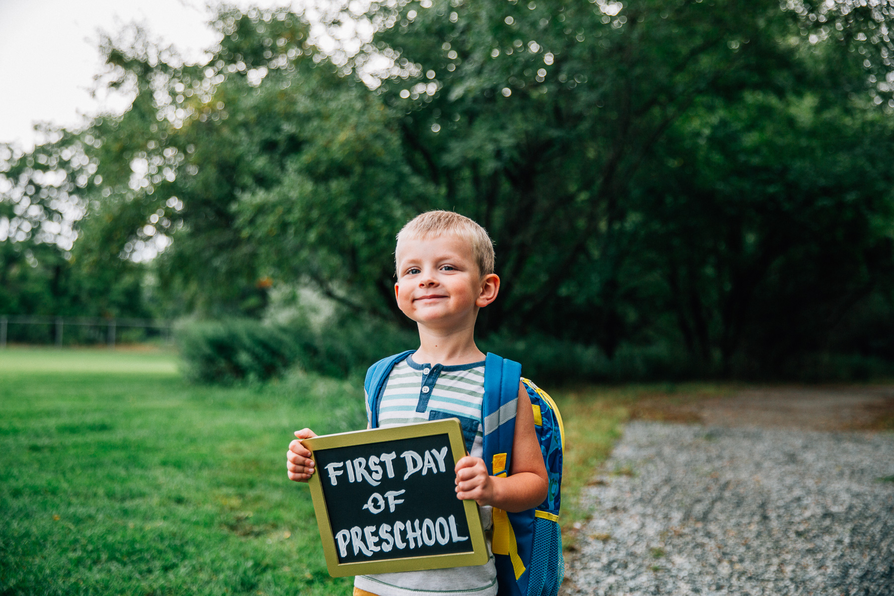 First Day // livelovesimple.com