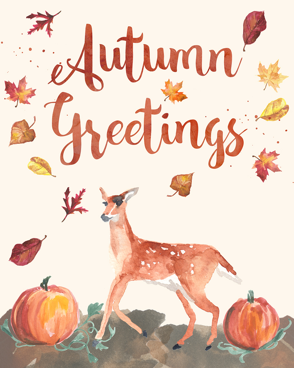 Free Printable Wall Art Autumn