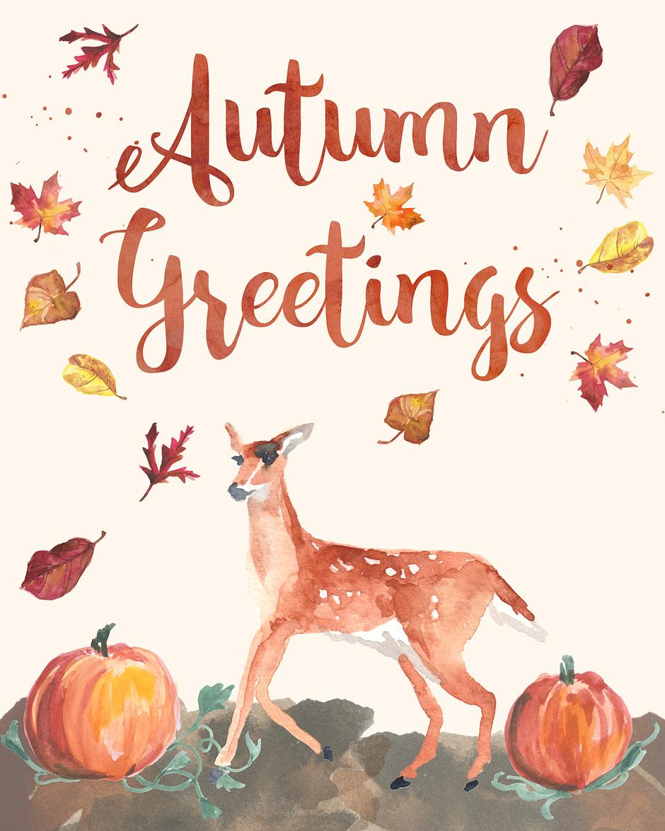 Free Printable Wall Art Autumn