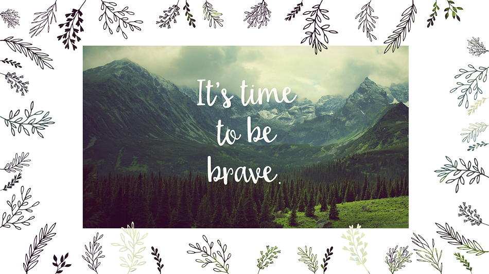 Free Desktop Background // Brave