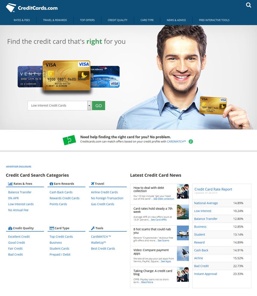 CreditCards.com // livelovesimple.com