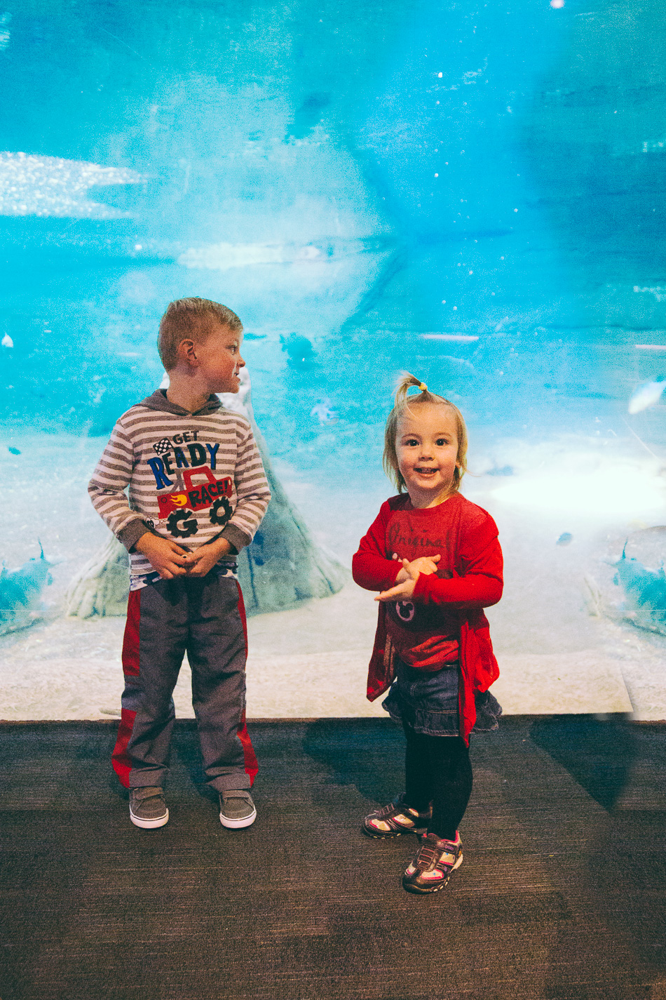 Aquarium Birthday Adventure // livelovesimple.com