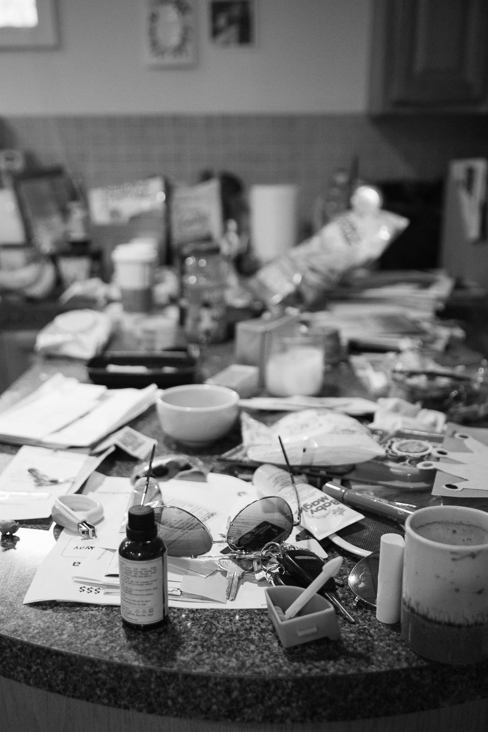 messy house // livelovesimple.com