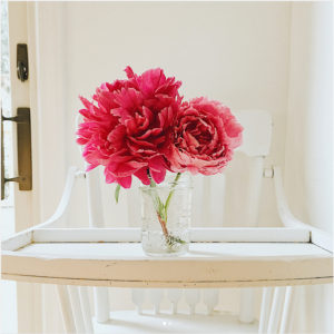 peonies // livelovesimple.com