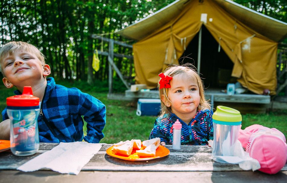 Family Camping 2017 // livelovesimple.com