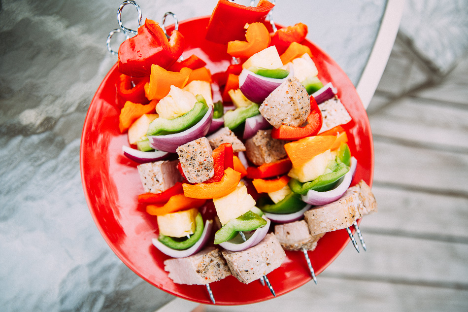 Pork Tenderloin Kabobs // livelovesimple.com