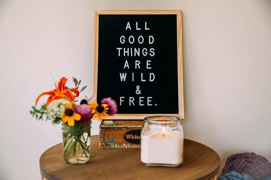 Wild & Free Home // livelovesimple.com
