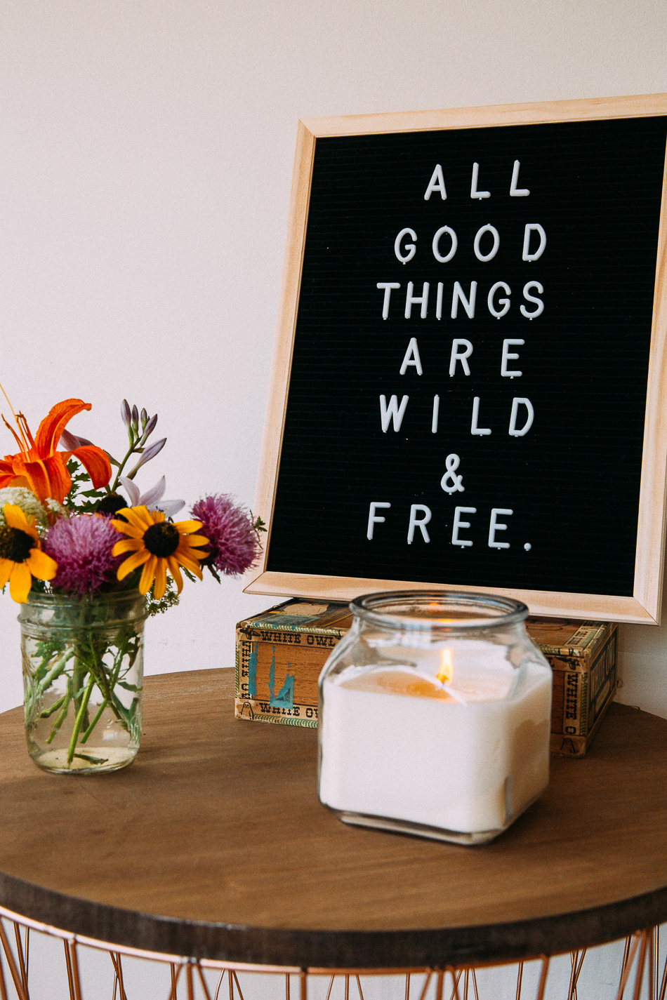 Wild & Free Home // livelovesimple.com