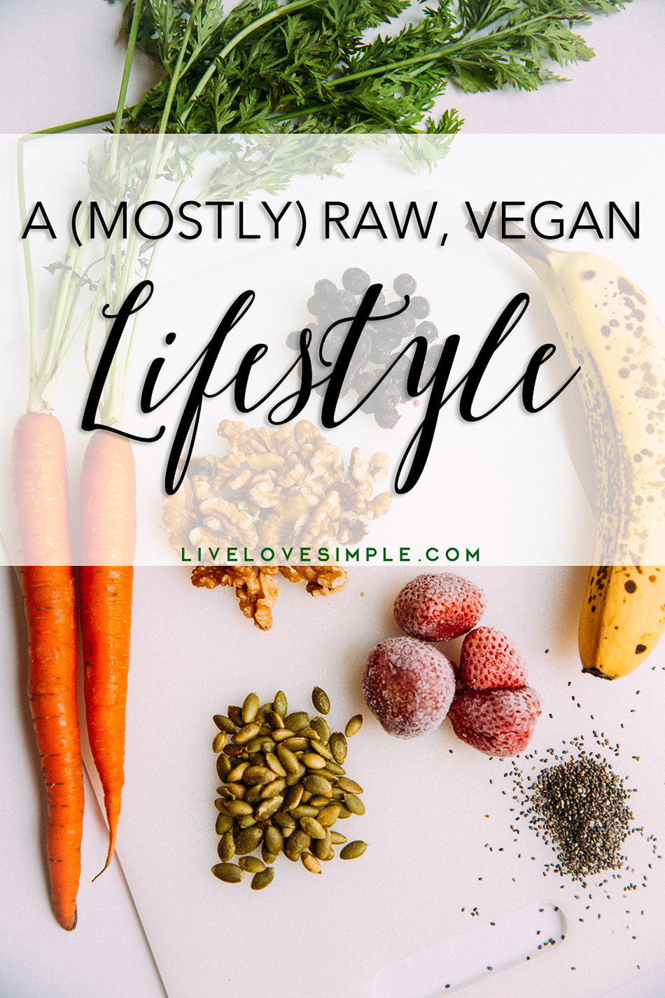 A (Mostly) Raw, Vegan Lifestyle // livelovesimple.com