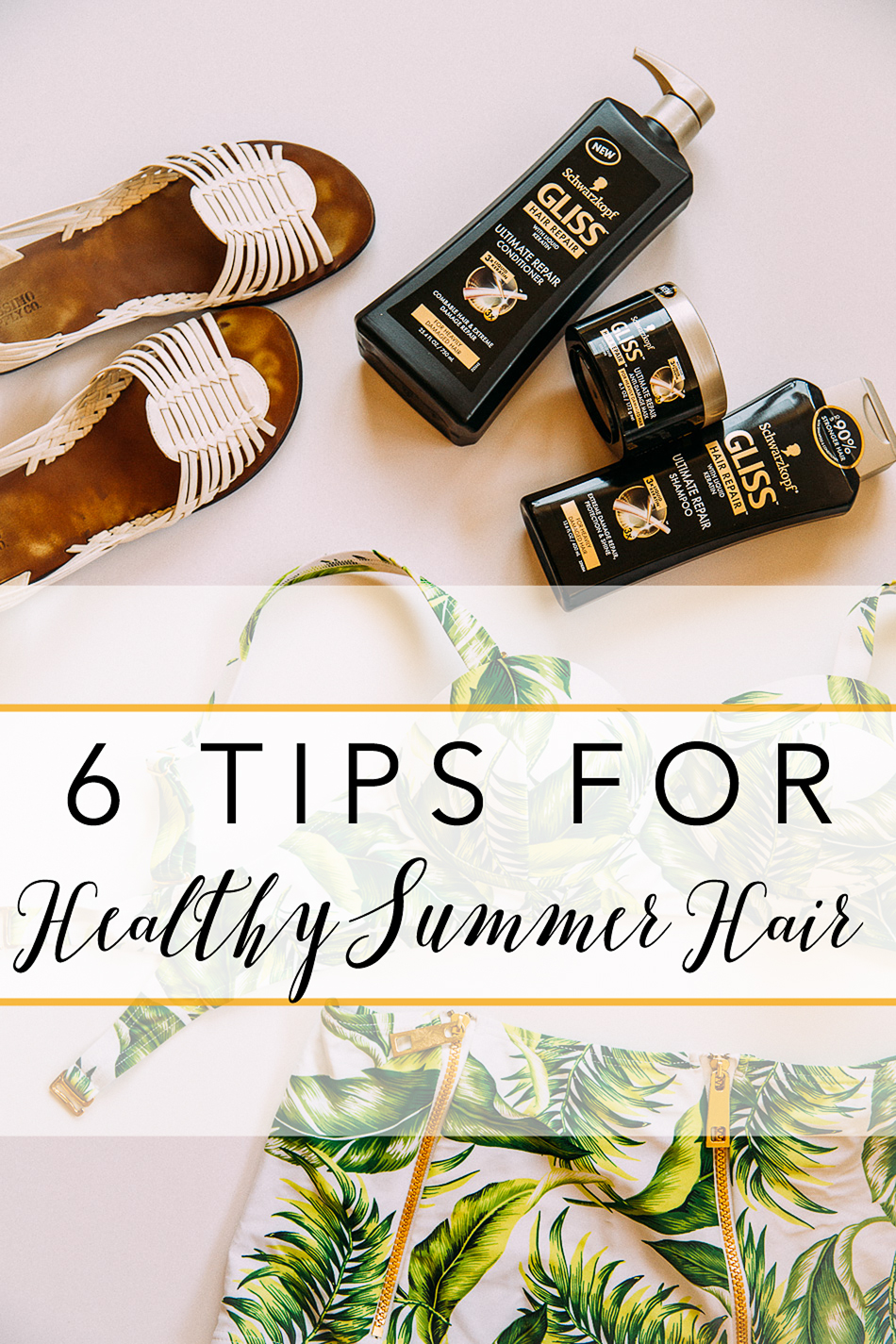 Healthy Summer Hair // livelovesimple.com