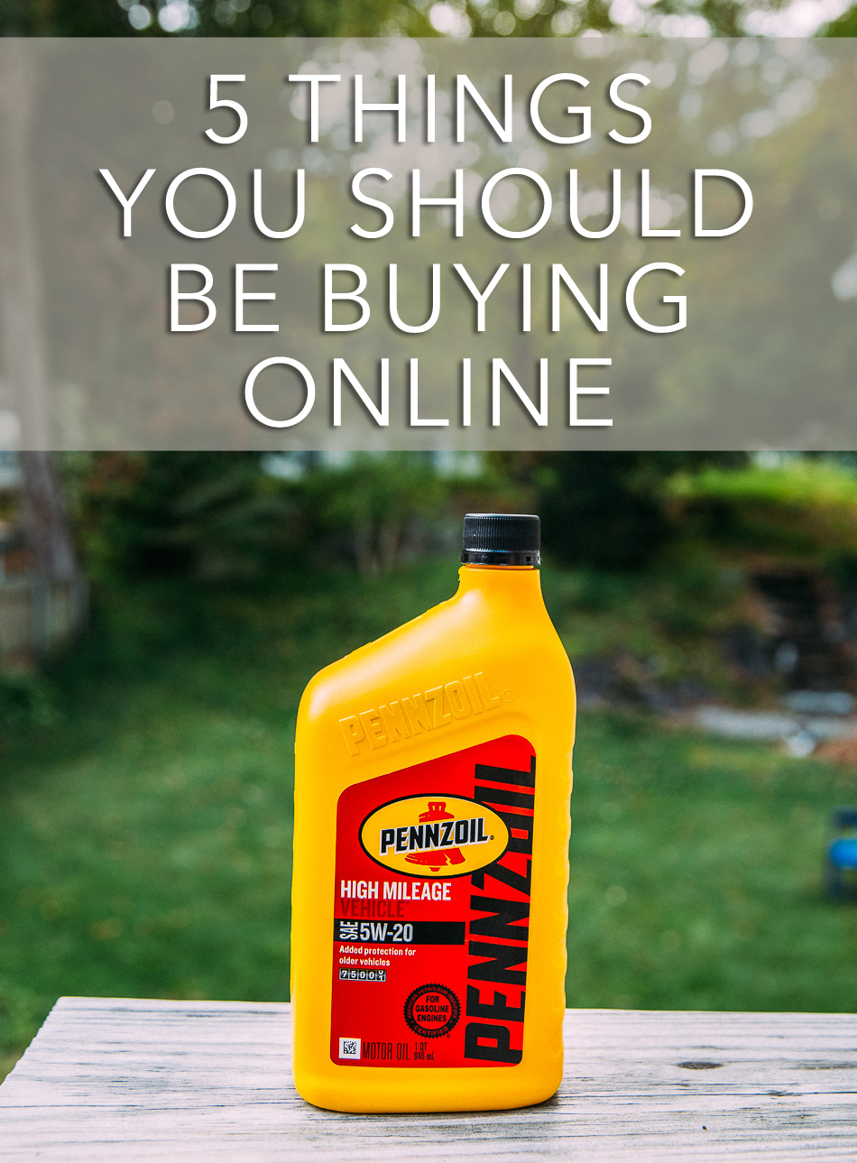 5 Things You Should Be Buying Online