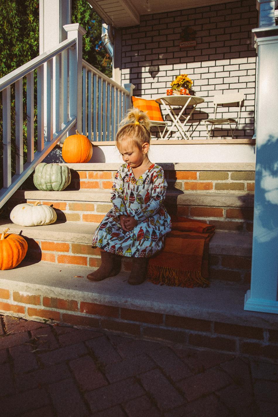 Marina Grace in Autumn // livelovesimple.com